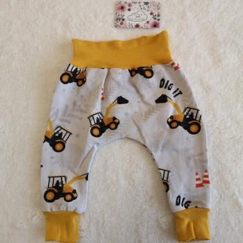 "Pantalon ""tractopelle"" 0/3 mois"