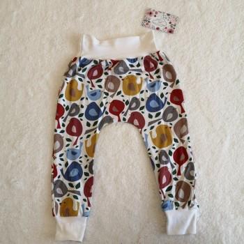"""Pantalon """"oiseau"""" 12/18 mois"""
