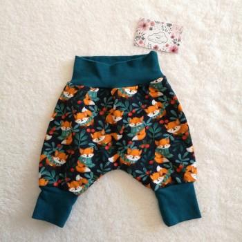 """Pantalon """"renards"""" 0/3 mois"""