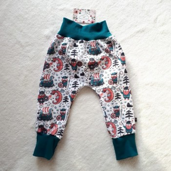 "Pantalon ""vickings"" 18/24 mois"