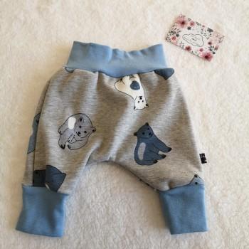 "Pantalon ""ours"" 0/3 mois"