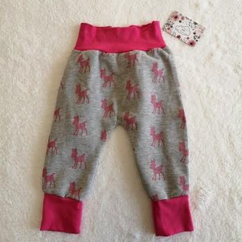 "Pantalon ""biches roses"" 12/18 mois"