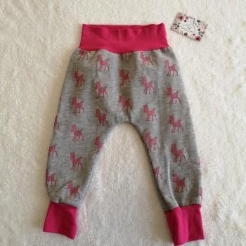 "Pantalon ""biches roses"" 24/36 mois"